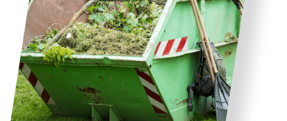 benne déchets verts